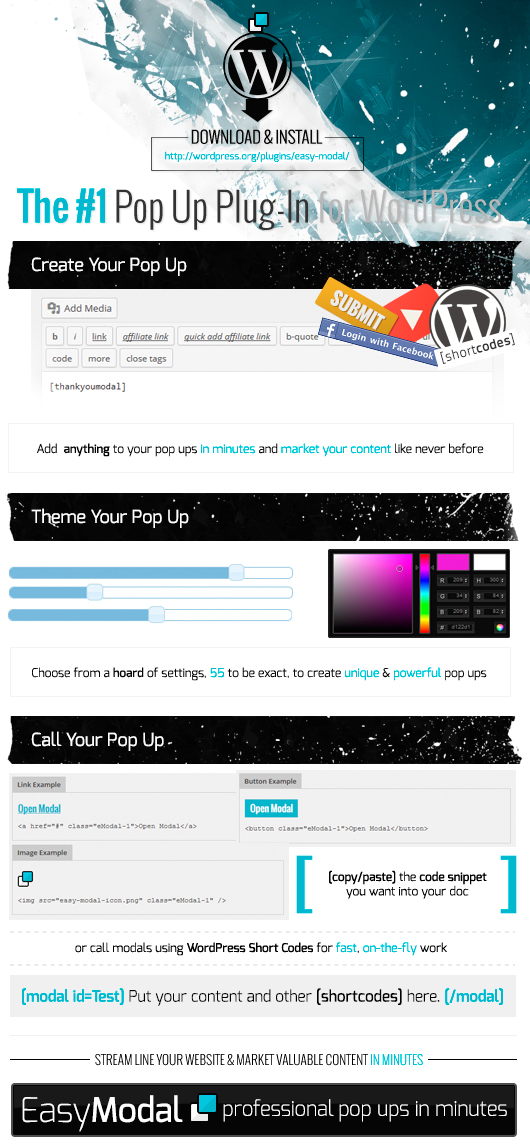 Make a Pop Up in Minutes Infographic