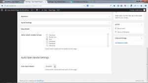 EasyModal Per Page/Post Modal Editor